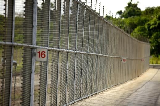 DIAC Images_Christmas Island Fence