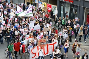 Slutwalk Manchester 2011